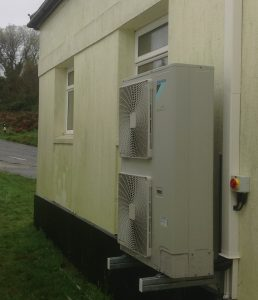Air Source Heat Pump Installation in Winchester.
