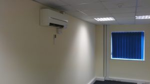Air Source Heat Pump Installed in Devon.
